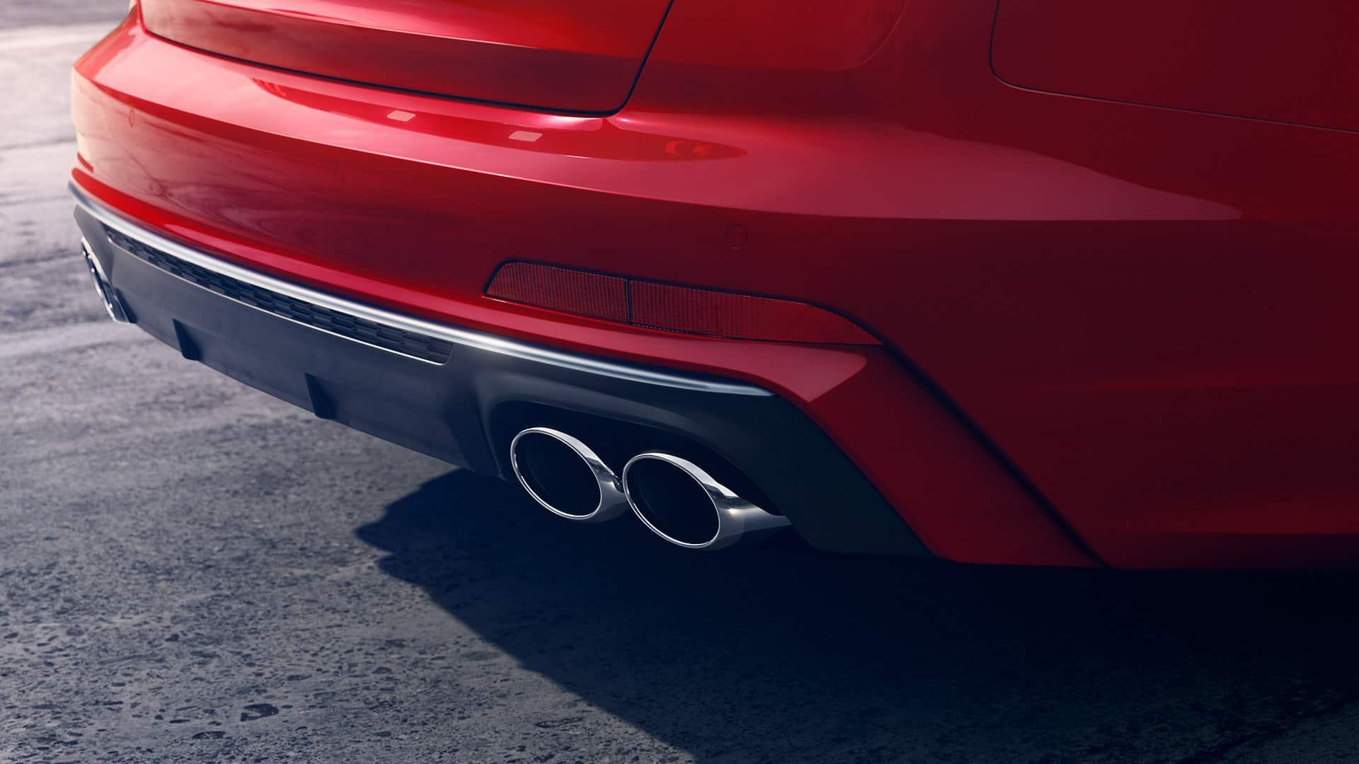 S diffuser Audi S6 Saloon